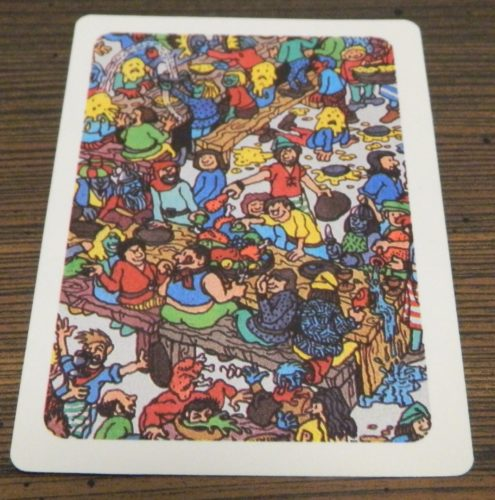 Card from Where's Waldo? Waldo Watcher