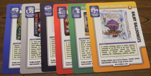 Scoring A Collection in BoardGameGeek The Card Game