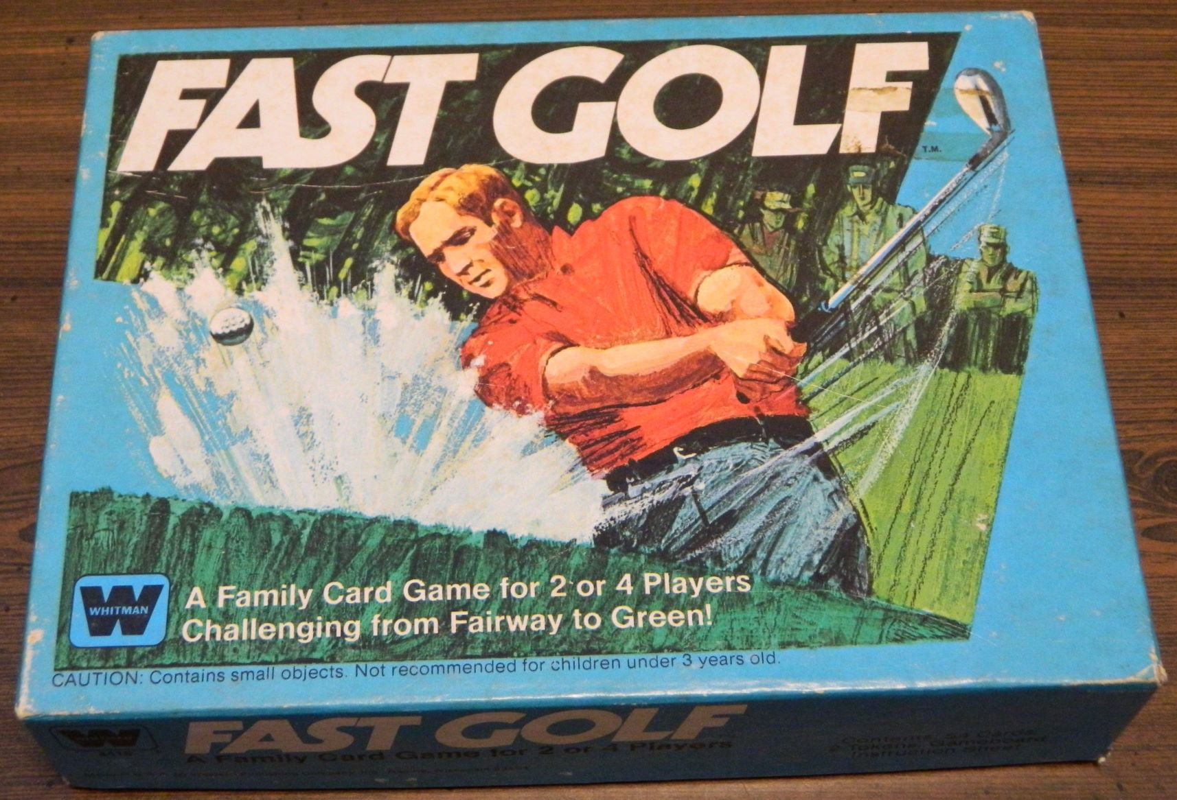 Box for Fast Golf