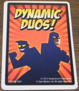 Dynamic Duos Card in Heads Up!