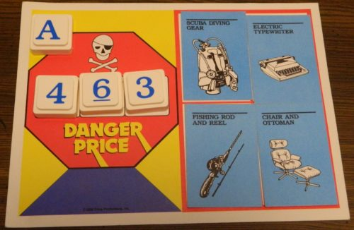 Danger Price in The Price Is Right
