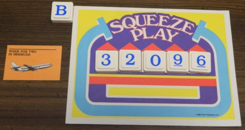 Squeeze Play in The Price Is Right