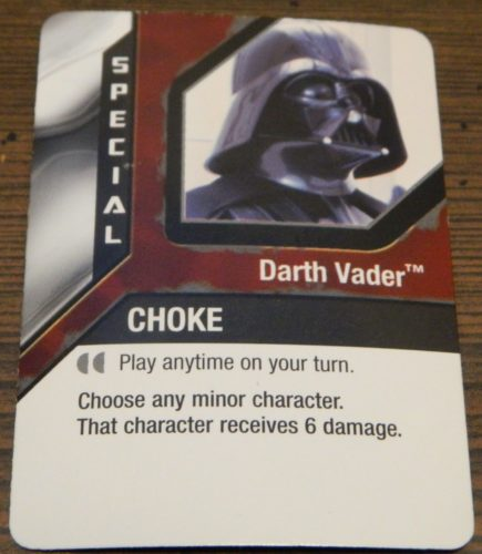 Special Card in Star Wars Epic Duels