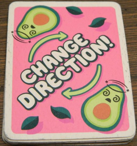 Change Direction Card in Avocado Smash