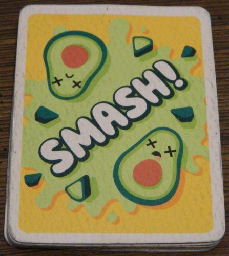 Smash Card in Avocado Smash