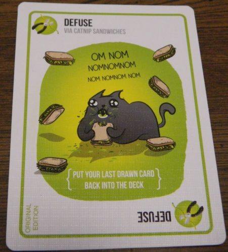 Defuse Card in Exploding Kittens