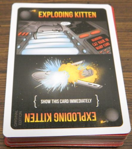 Exploding Kitten Card in Exploding Kittens