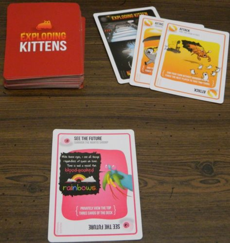 See the Future Example in Exploding Kittens