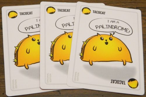 Three of a Kind in Exploding Kittens