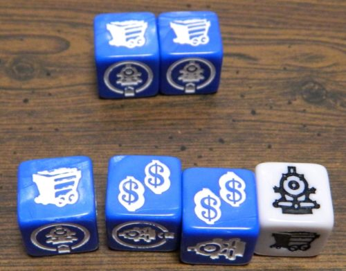 Dice to Roll in Trains and Stations