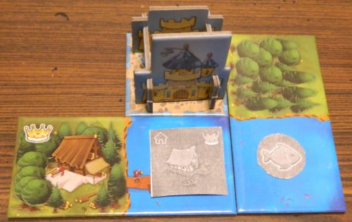 Place Building in Kingdomino The Court