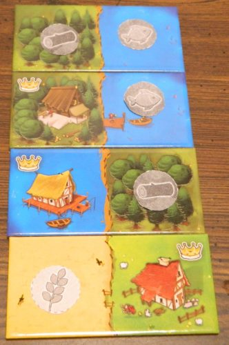 Placing Resources in Kingdomino: The Court
