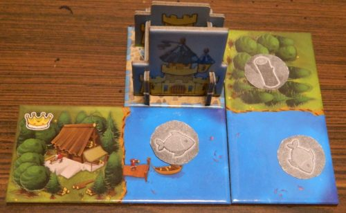 Placing Tiles in Kingdomino: The Court