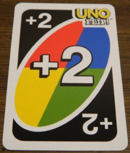Draw Two Wild Card in UNO Flip!
