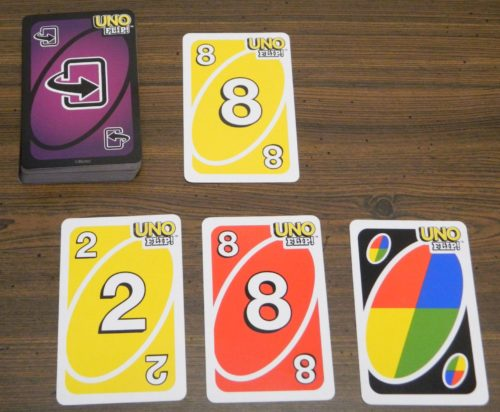 Playing A Card in UNO Flip!