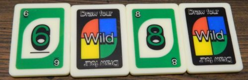 Wild Draw Four in UNO Rummy-Up