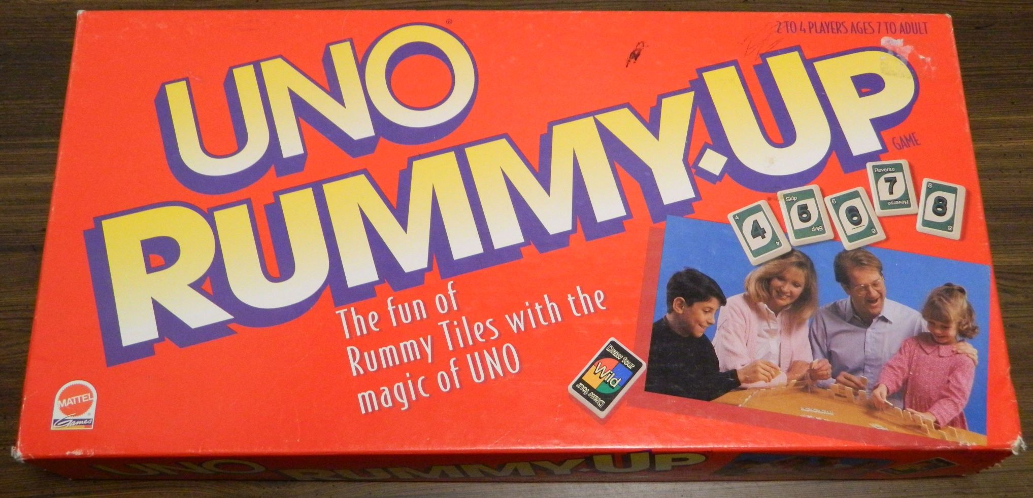 Box for UNO Rummy-Up