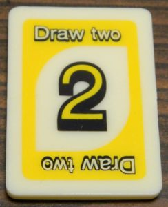 Draw Two Tile in UNO Rummy-Up