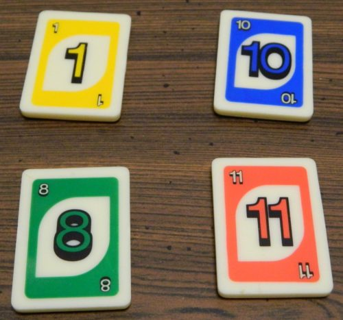 Starting Tiles in UNO Rummy-Up