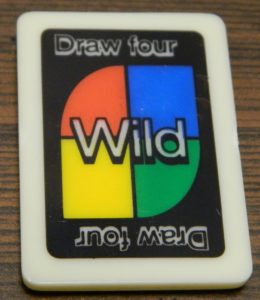 Wild Draw Four Tile in UNO Rummy-Up