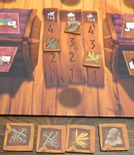 Scoring in Vikings On Board