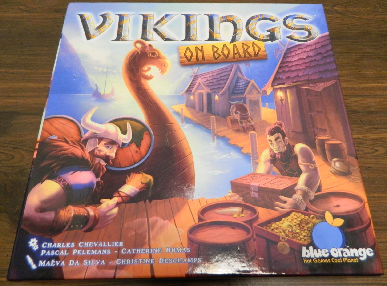 Box for Vikings On Board