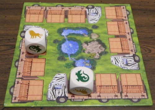 Place Dice in Zooloretto Dice Game