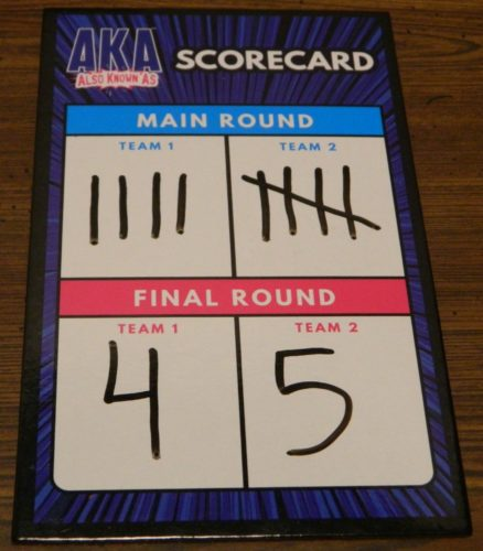 Final Score in AKA: Also Known As