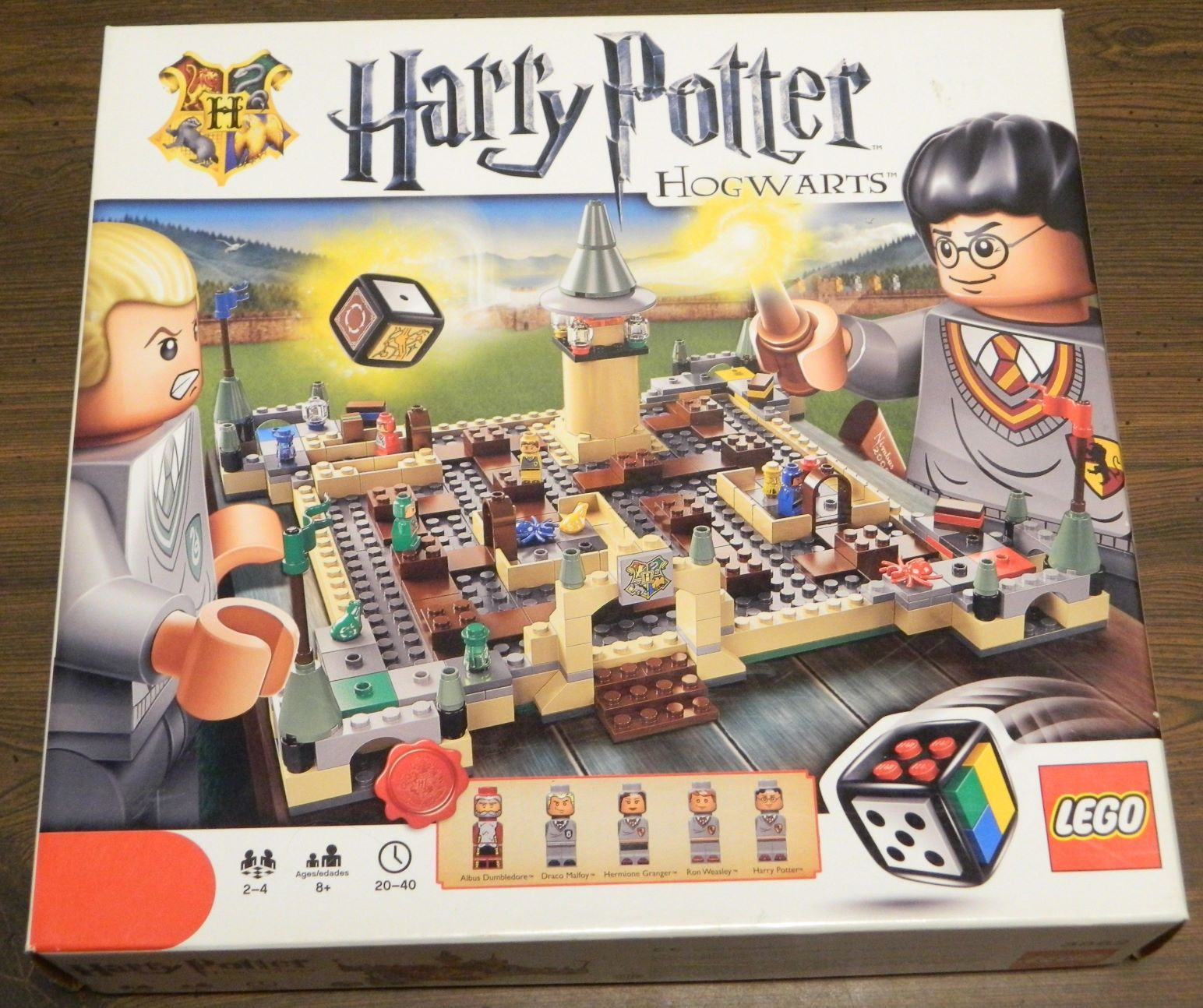 Box for LEGO Harry Potter Hogwarts