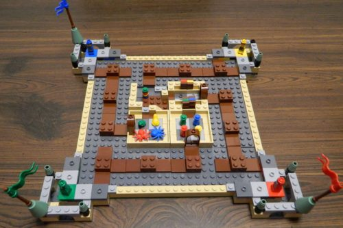 Setup in LEGO Harry Potter Hogwarts