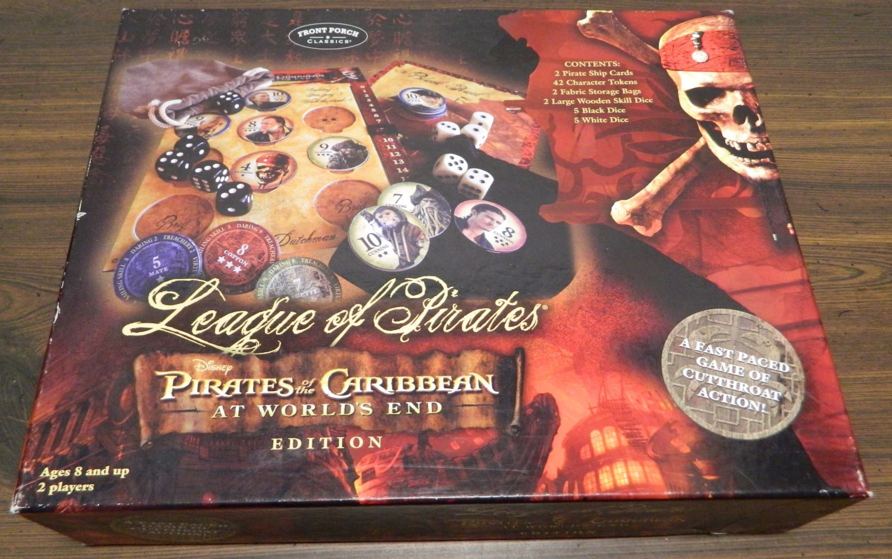 Box for League of Pirates