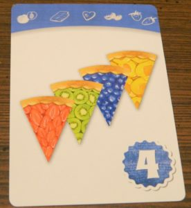Four Season Flavor Pattern Card in Piece of Pie