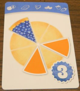 Blueberry Delight Card in Piece of Pie