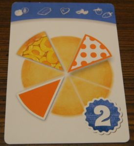 Apricot Delight Recipe Card in Piece of Pie