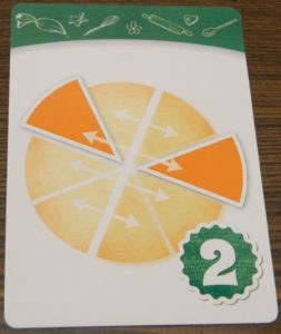 Mirror Image Pattern Recipe Card in Piece of Pie