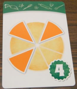 Triangle Pattern Recipe Card in Piece of Pie