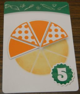 Alternate Pattern Recipe Card in Piece of Pie