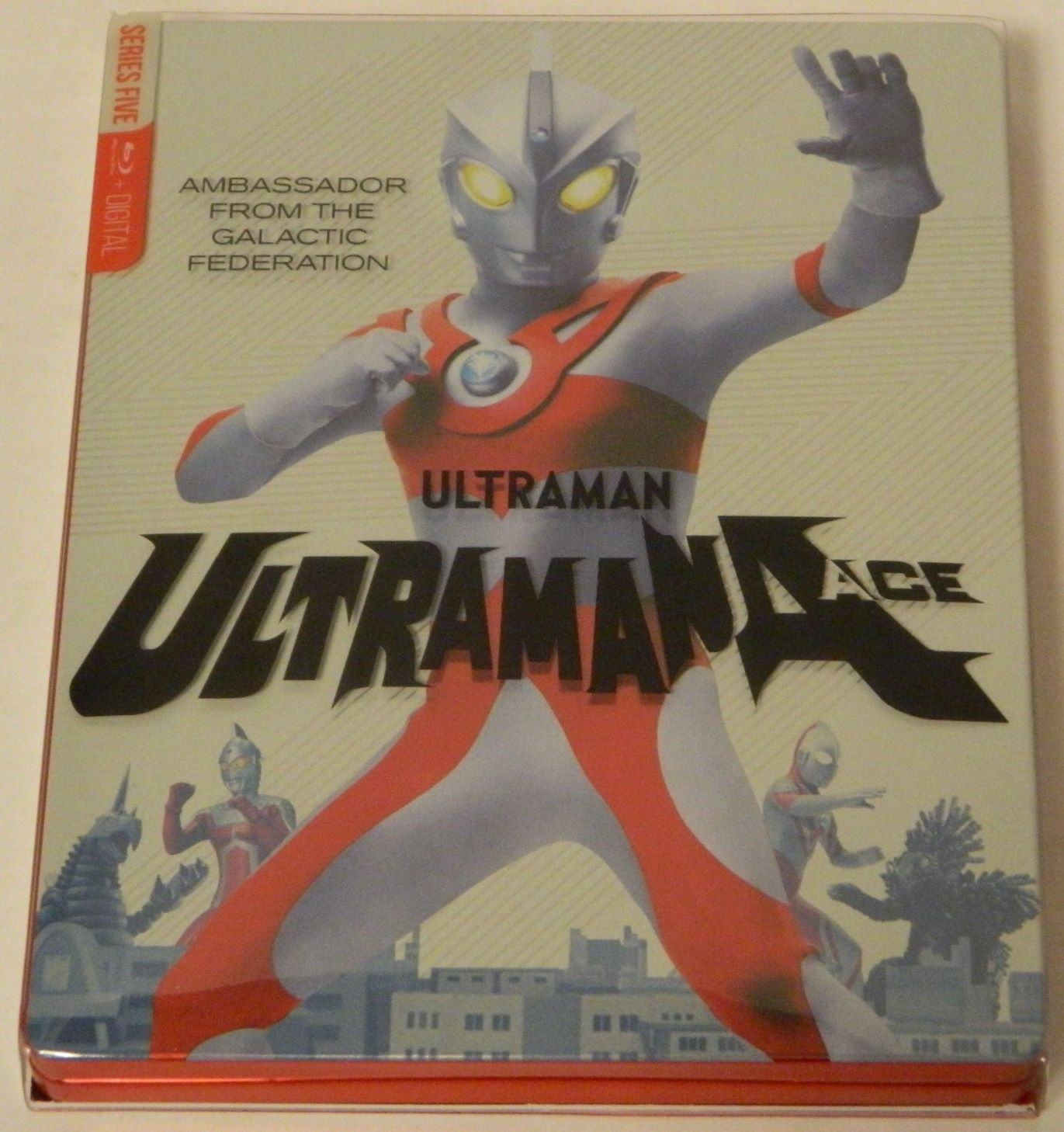 Ultraman Ace The Complete Series SteelBook Edition Blu-ray