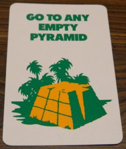 Go To Any Empty Pyramid Card from Back Off! Buzzard