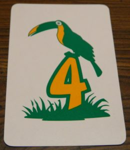 Number Card from Back Off! Buzzard