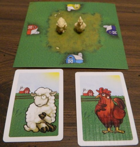 Place Animals on Field in Black Sheep