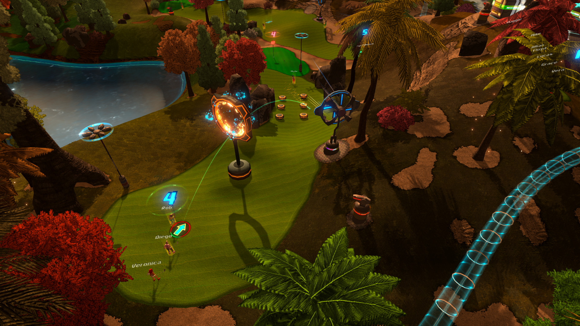 GolfTopia Screenshot
