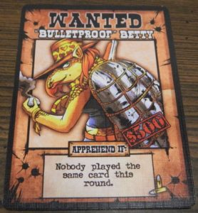 Bulletproof Betty Card from OutLawed!