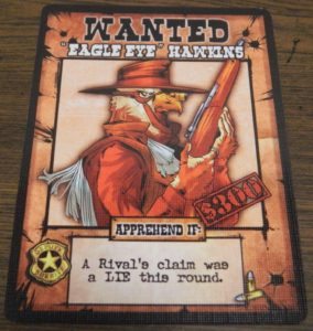 Eagle Eye Hawkins Card from OutLawed!