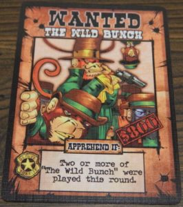 The Wild Bunch Card from OutLawed!