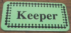 Keeper Card in Stampin'