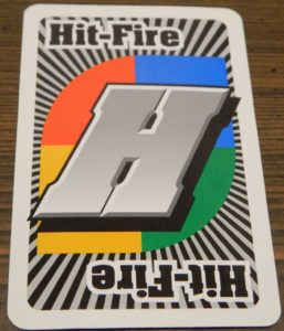 Hit Fire Card in UNO Attack!