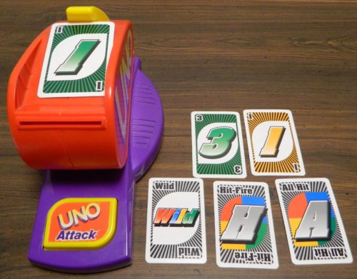 Play Card in UNO Attack!