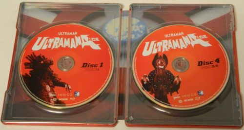 Ultraman Ace The Complete Series SteelBook Edition Blu-ray Packaging
