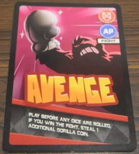 Avenge Card From Banana Bandits